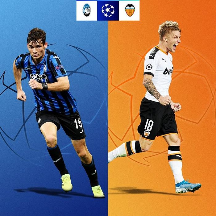 Cơ hội đi tiếp của các đội tại vòng 1/8 UEFA Champions League 2019/20 - Atalanta vs Valencia
