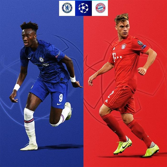 Cơ hội đi tiếp của các đội tại vòng 1/8 UEFA Champions League 2019/20 - Chelsea vs Bayern