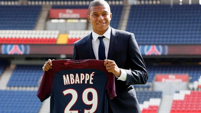 Top 10 cầu thủ có giá trị chuyển nhượng cao nhất thế giới - Kylian Mbappe