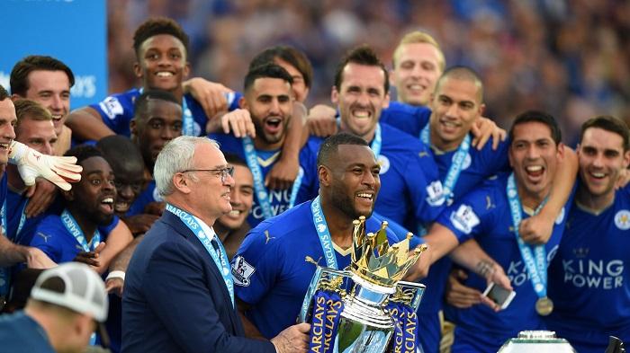 Leicester City vô địch thần kì vào mùa 2015-16