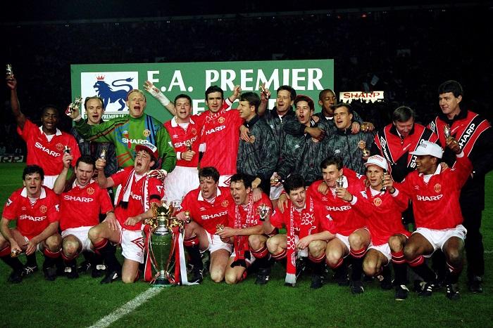 Manchester United là đội đầu tiên vô địch ở triều đại Premier League