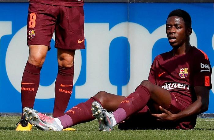 Top 10 cầu thủ có giá trị chuyển nhượng cao nhất thế giới - Ousmane Dembele