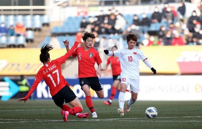 ĐT nữ Việt Nam thất thủ 0-3 trước nữ Hàn Quốc