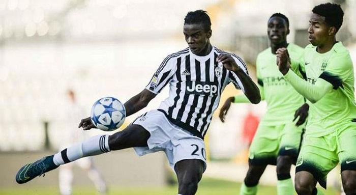 King Udoh khi còn khoác áo cho Juventus