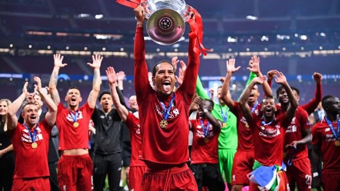 Liverpool có 6 lần vô địch Champions League tính đến mùa 2018-19