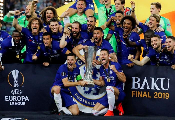 Chelsea vô địch Europa League mùa giải 2018-19