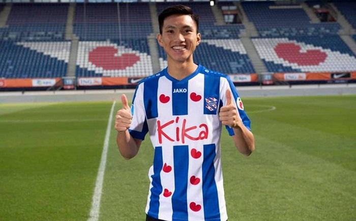 Hậu vệ quê Thái Bình vẫn chưa có nhiều cơ hội tại Heerenveen