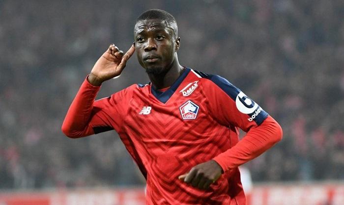 Nicolas P.epe chơi cho Lille