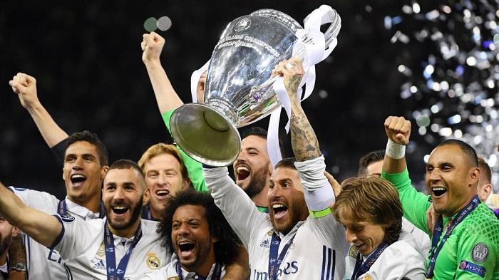 Real Madrid là đội bóng giàu thành tích nhất lịch sử UEFA Champions League
