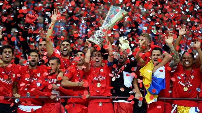 Sevilla là đội giàu thành tích nhất tại đấu trường C2 với 5 chức vô địch