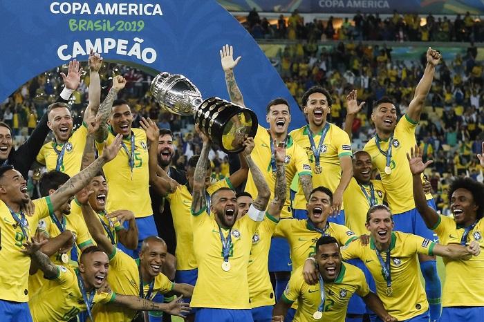 Brazil hiện đang là đương kim vô địch giải đấu