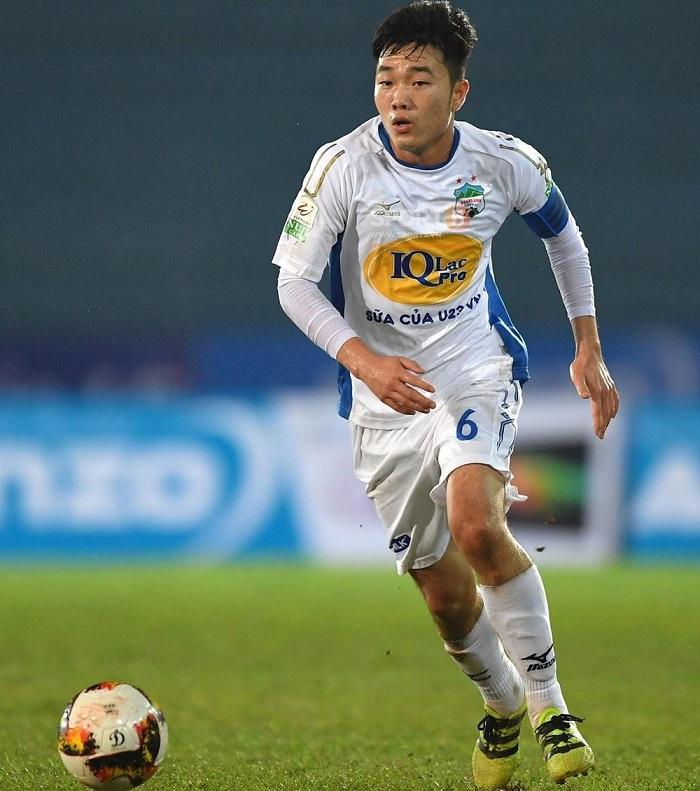 Cầu thủ Lương Xuân Trường là thủ lĩnh tinh thần của HAGL