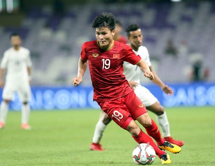 Cầu thủ Nguyễn Quang Hải sinh năm 1997