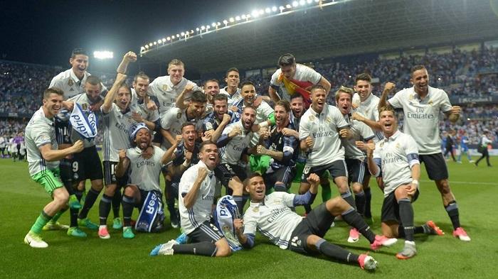 Real Madrid là đội thành công xuất sắc nhất ở La Liga với 33 thương hiệu đã giành được