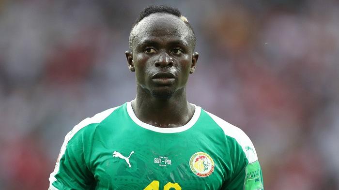 Sadio Mane trong màu áo ĐT Senegal