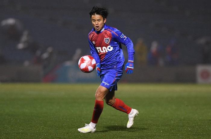 Takefusa Kubo trong màu áo FC Tokyo