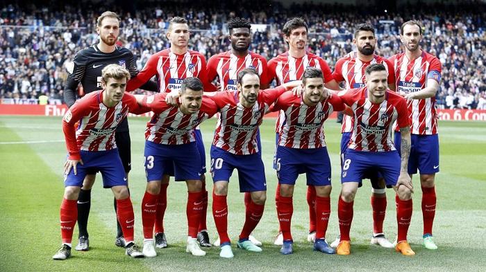 tin tức về Atletico Madrid 6.  đội