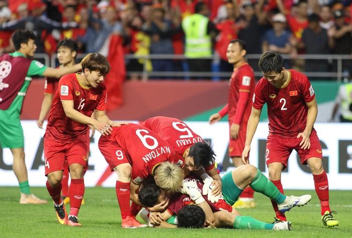 ĐT Việt Nam từng gấp đôi vào tứ kết Asian Cup