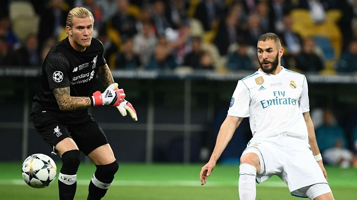 Loris Karius mắc sai lầm nghiêm trọng ở trận chung kết Champions League 2017-18
