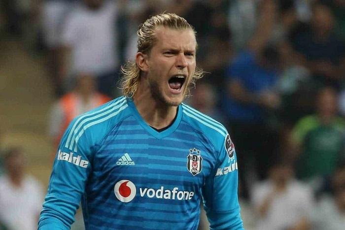 Loris Karius trong màu áo Besiktas