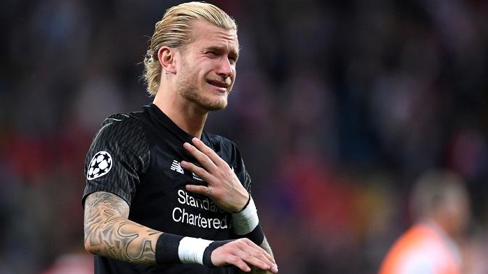 Loris Karius khóc nức nở sau trận thua trước Real Madrid
