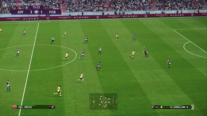 giao diện của eFootball P.ES 2020