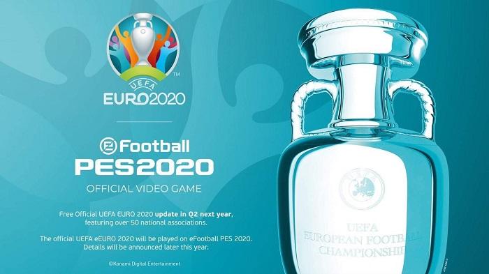 Konami mua giấy phép Euro 2020