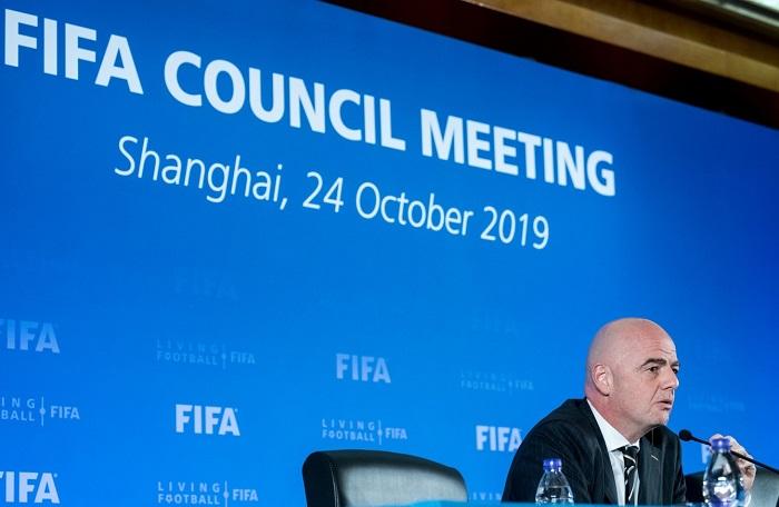 quản trị FIFA Gianni Infantino - Giải vô địch bóng đá những câu lạc bộ toàn thế giới - FIFA Club World Cup