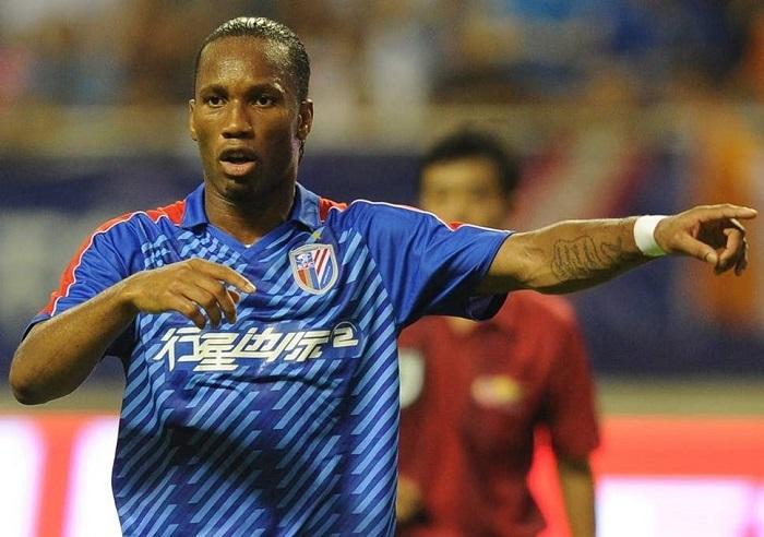Didier Drogba đã chơi ở Chinese Super League