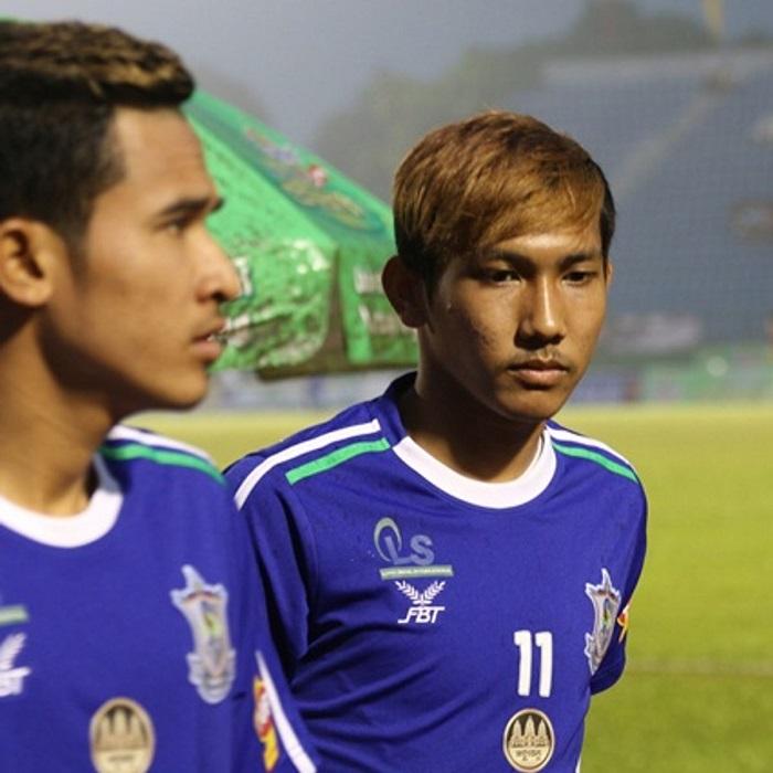 Chan Vathanaka là cầu thủ Campuchia thứ nhất ra quốc tế