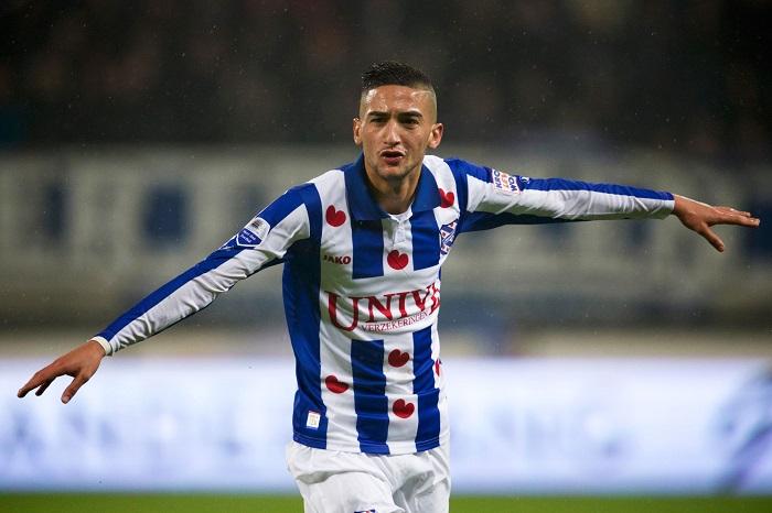 Hakim Ziyech lớn lên từ trại huấn luyện của SC Heerenveen