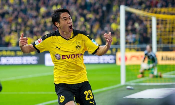 Shinji Kagawa thăng hoa trong màu áo Dortmund