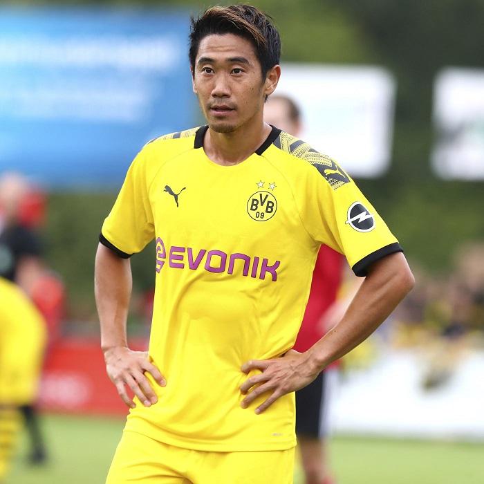Shinji Kagawa trở lại Dortmund