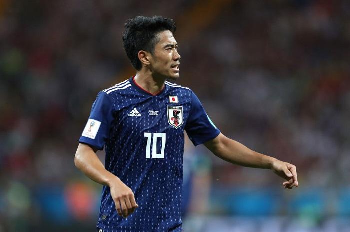 Shinji Kagawa là thành viên chủ chốt của đội tuyển Nhật Bản