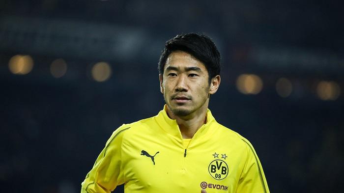 Shinji Kagawa có 2 quá trình tranh tài cho Dortmund