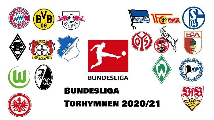 Bảng xếp hạng giải bóng đá Đức Bundesliga tiên tiến và phát triển nhất 2020-21