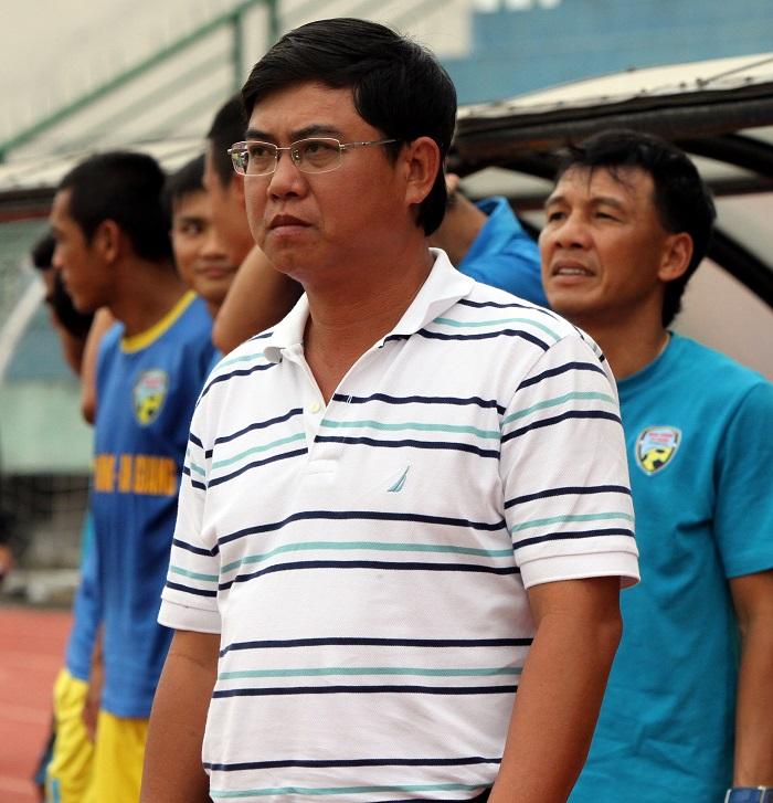 Câu lạc bộ bóng đá An Giang - HLV Nhan Thiện Nhân