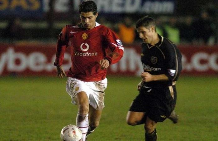 Cựu cầu thủ Man City từng xỏ háng Cristiano Ronaldo là ai?