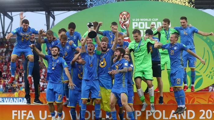 Nhà vô địch U20 World Cup 2019 Ukraine