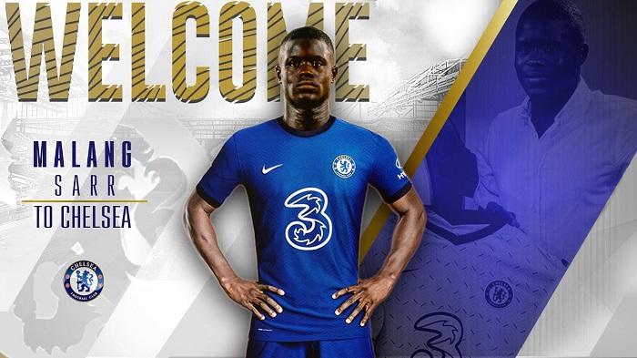 Malang Sarr gia nhập Chelsea từ Nice theo hình thức chuyển nhượng ủy quyền tự do