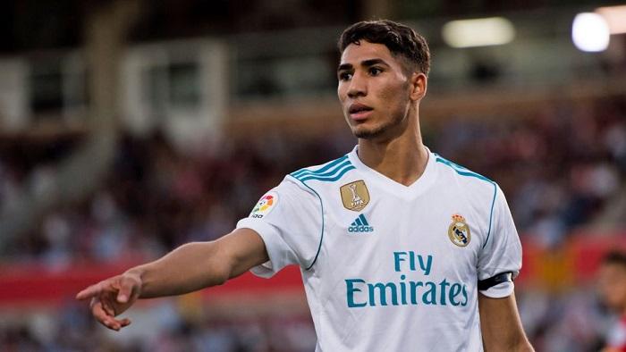 Achraf Hakimi ở Real Madrid