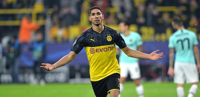 Achraf Hakimi là vua vận tốc khi anh còn ở Borussia Dortmund