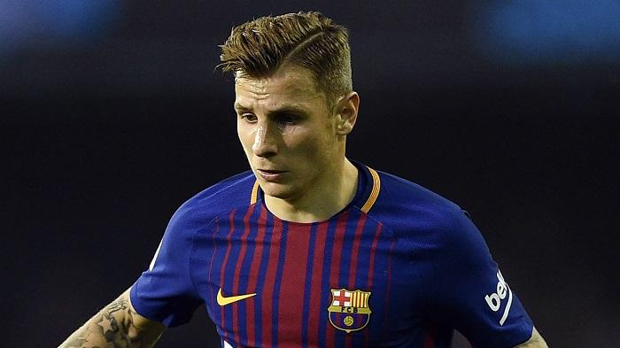Sự nghiệp của Lucas Digne gặp trắc trở khi không được ra sân nhiều tại Barcelona