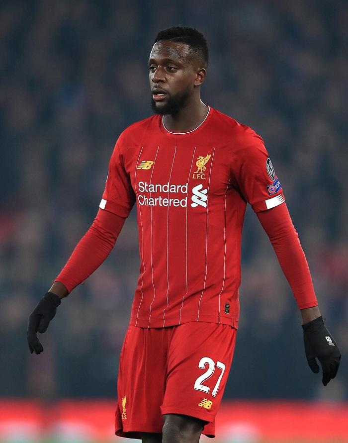 Cầu thủ Divock Origi trong màu áo Liverpool