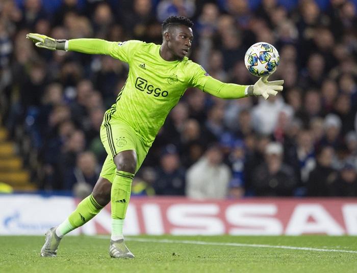 Andre Onana tỏa sáng trong màu áo Ajax