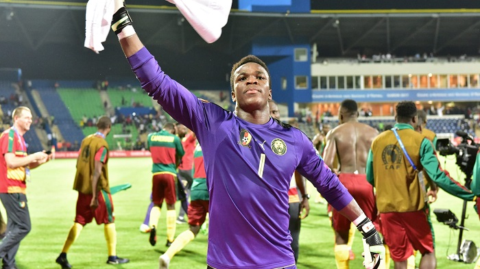 Andre Onana trong đội Cameroon