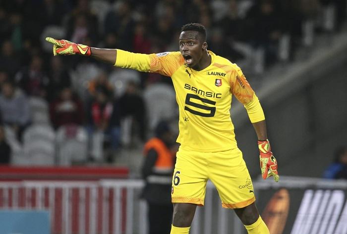Edouard Mendy tỏa sáng trong màu áo Rennes trong mùa giải 2019-20