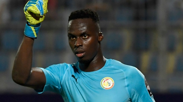 Edouard Mendy khoác áo cho ĐT Senegal