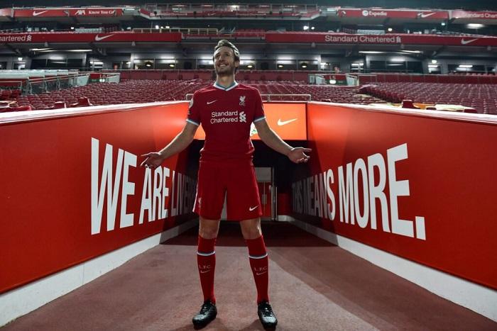 Ben Davies - tiền vệ tân binh tháng một năm 2021 của Liverpool