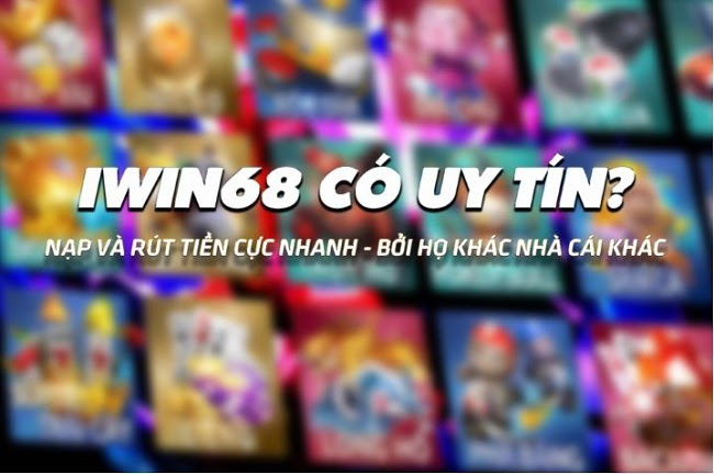 Thiên đường game bài trên cổng game Iwin68